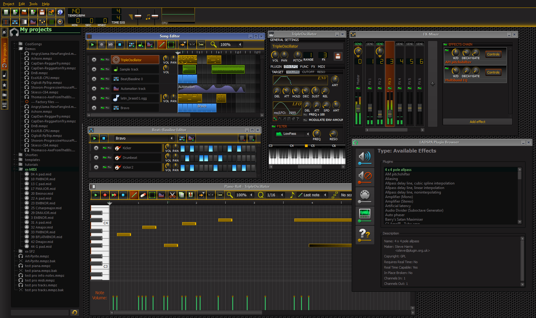 New theme Colored Darkness - LMMS • Forums